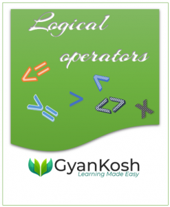 HOW TO USE LOGICAL OPERATORS IN EXCEL ?